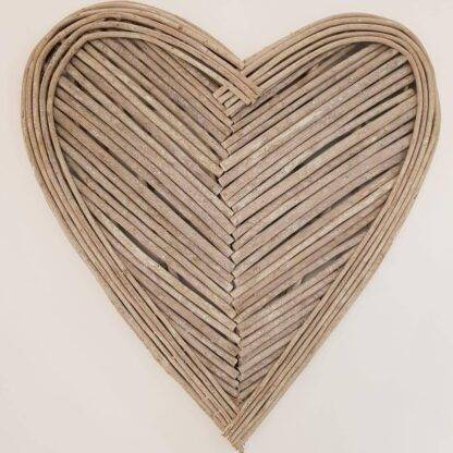 Large Wicker Heart