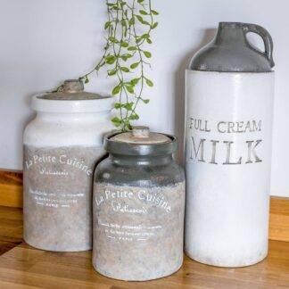 La Petite Cuisine Grey Jar