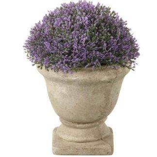 Potted Heather Planter in Urn
