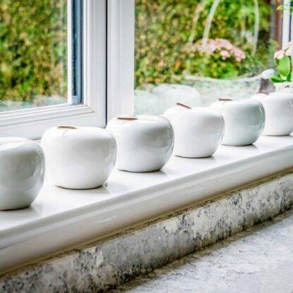 Glossy Ceramic Apples - Various
