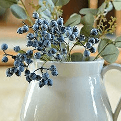 Artificial blueberry sprays