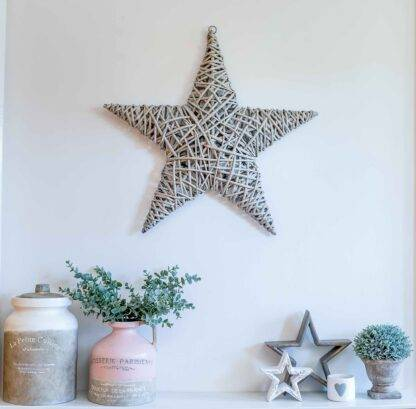 Grey hanging willow star