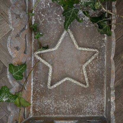 Beaded Hanging Star