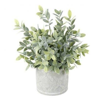Faux Potted Sage - Artificial Plants