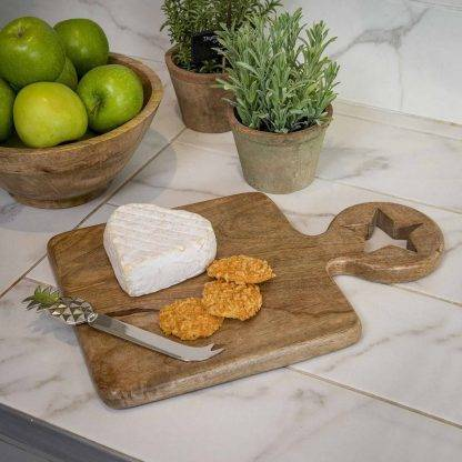 Chunky Star Chopping Board