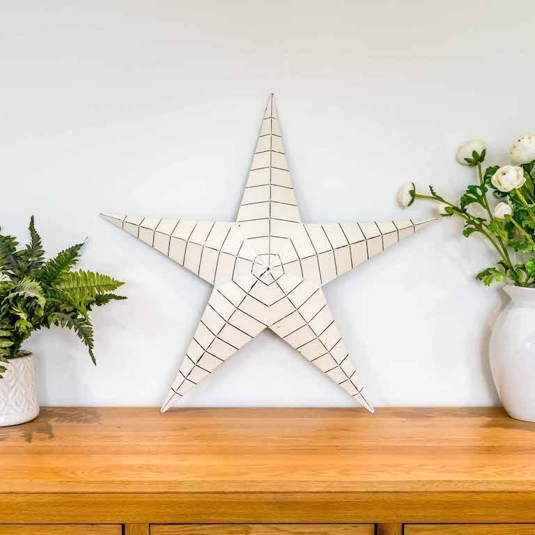 Cream Barn Star