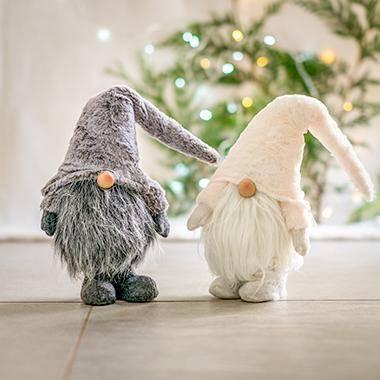 Large Christmas Gonk - Grey or White