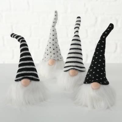Black and White Gonks - 4 designs